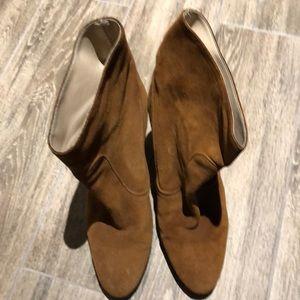 Zara Brown Booties size 40